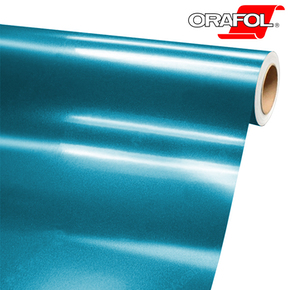Car Wrappingová fólie lesk ORACAL 970RA 963 Jetstream blue, šíře role 152cm | REGAHK.CZ